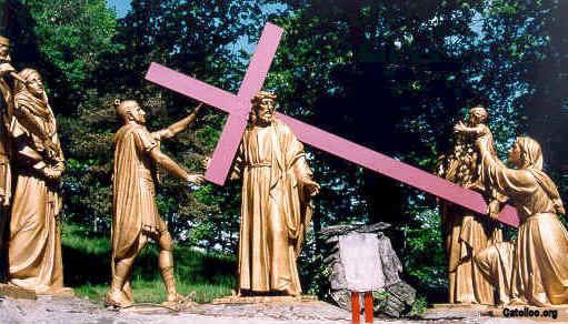 Matrimonio Catolico Por Segunda Vez : Via crucis lourdes da pag